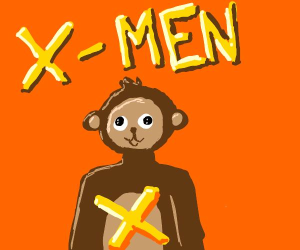 Monke is a X-Man