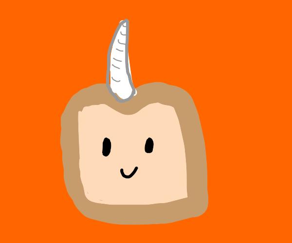 Horned bread
