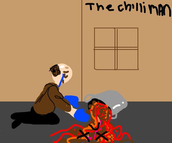 chili man is dead