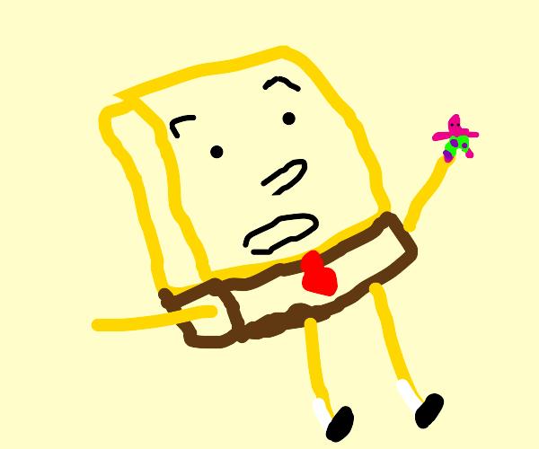 Shocked Spongebob