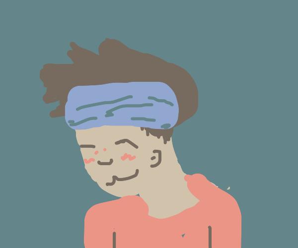 Boy w/ headband