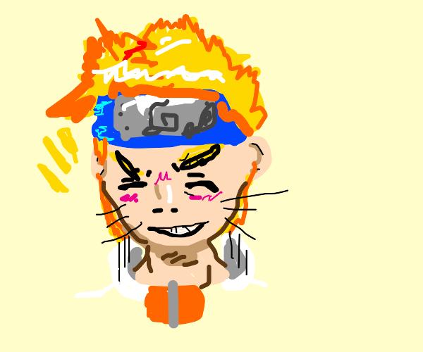 Naruto is happy