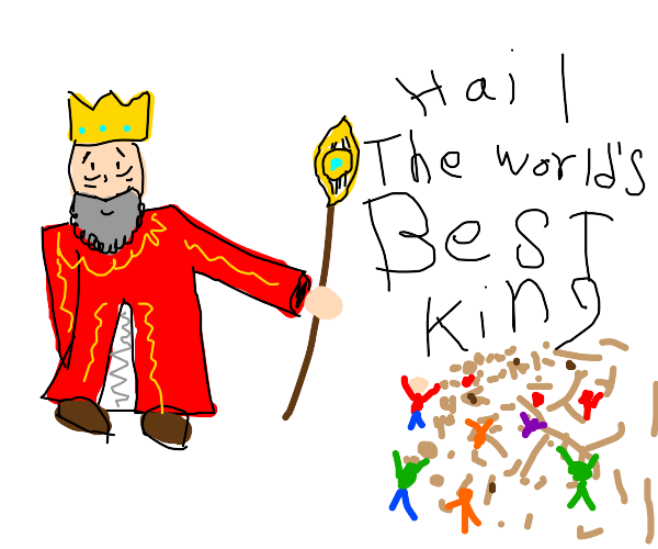 world's best king