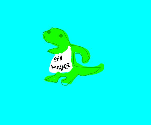 a big lizard grill master