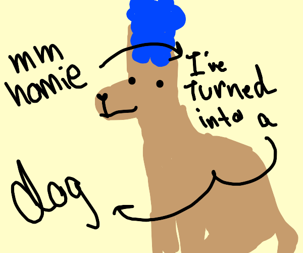 Marge but shes a dog