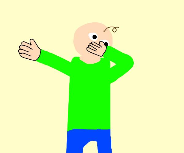 Baldi dabbing