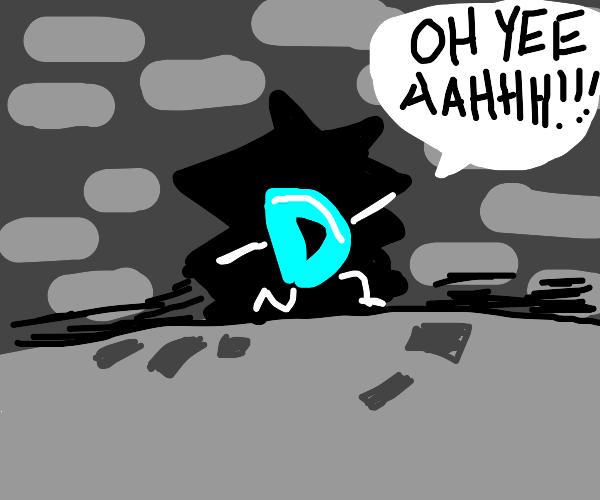 Drawception D bust through wall like KoolAid