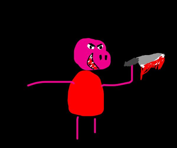 peppa pig, the serial killer