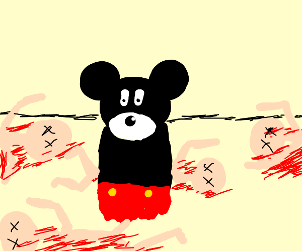 Mickey Mouse, serial killer