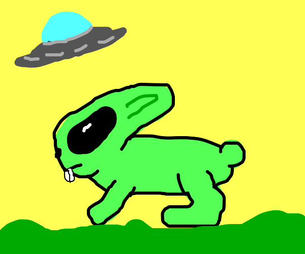 alien rabbit