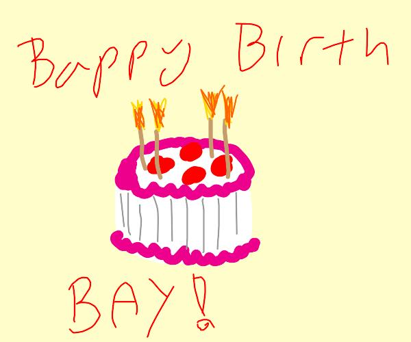 Another birthday cake