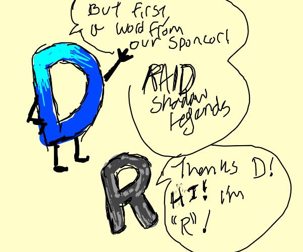 raid shadow legends sponsors drawception