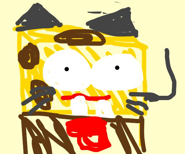 SpongeBob cat