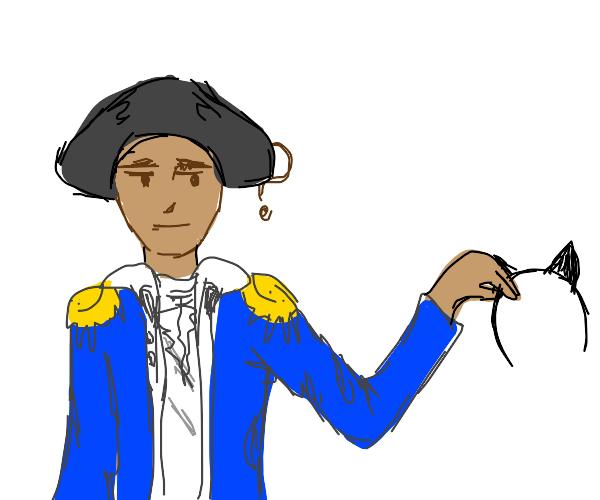 George Washington learns how to be a furry