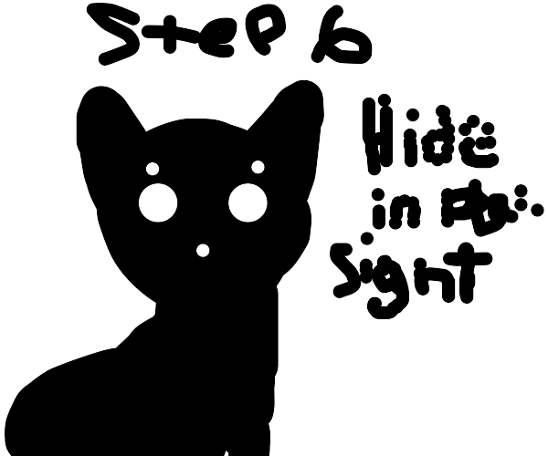 Step 5: Steal the cat's identity as revenge