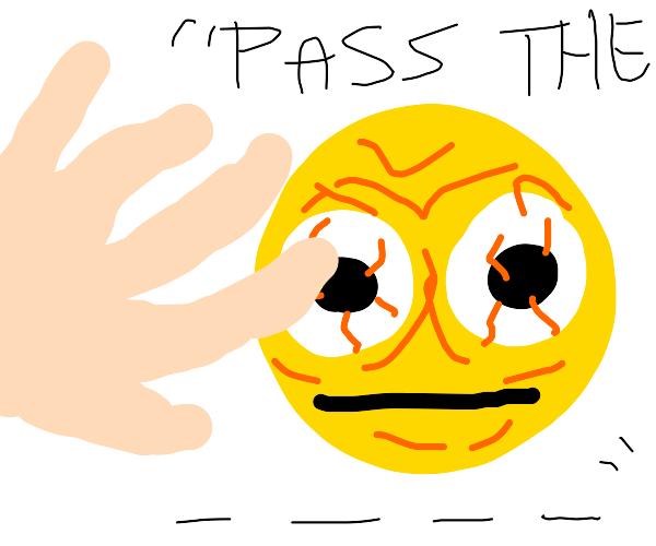 pass the vibe, man