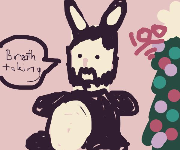Wholesome 100 Keanu Chungus Christmas