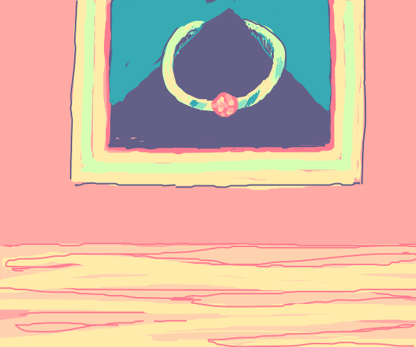 painting of a ring