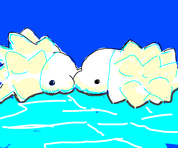 A cute snom couple