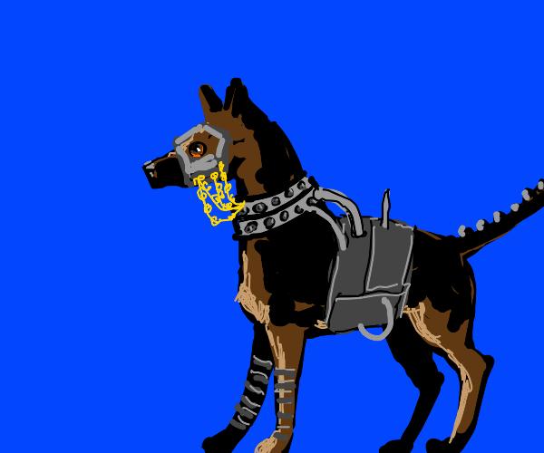Cyberpunk Dog