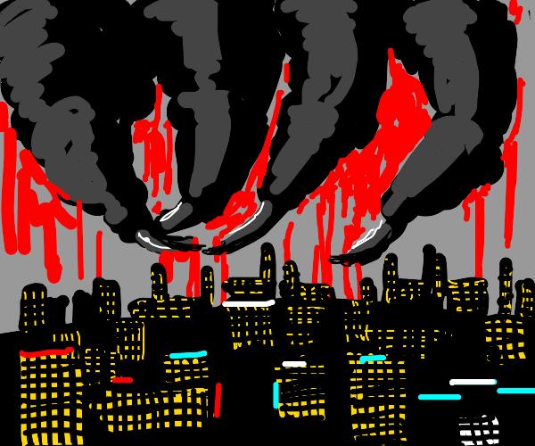 Nightmare sky
