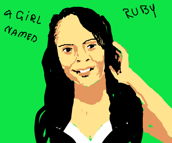 A girl named Ruby