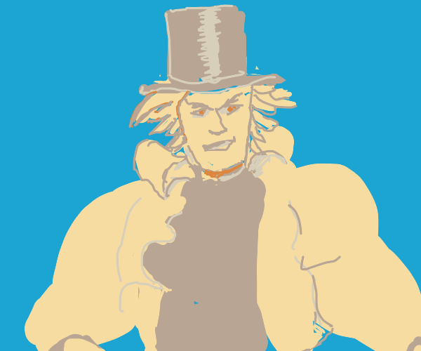 Dio in a top hat