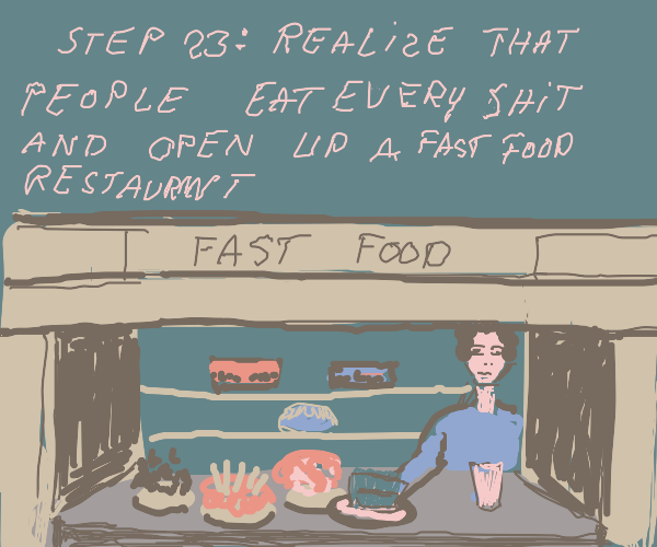 step 22 - realize that you can't cook & bake