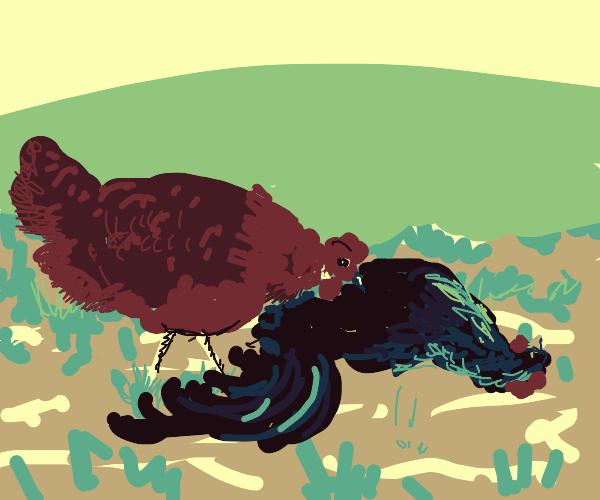 Henpecking corpse has bone to pick w/ hubby