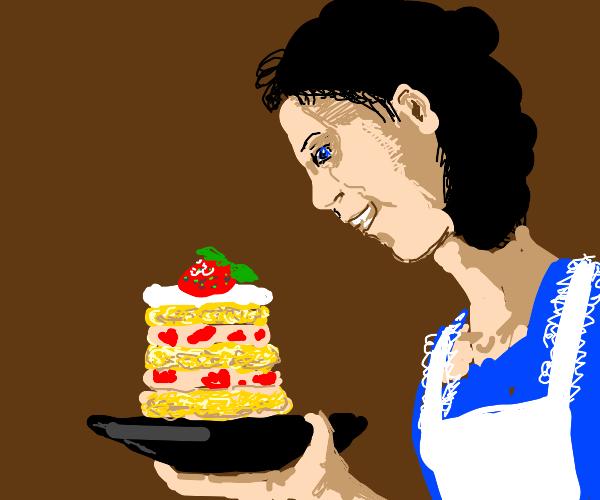 Justly proud of a gorgeous strawbry shortcake