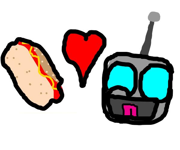 Gir loves weeniers