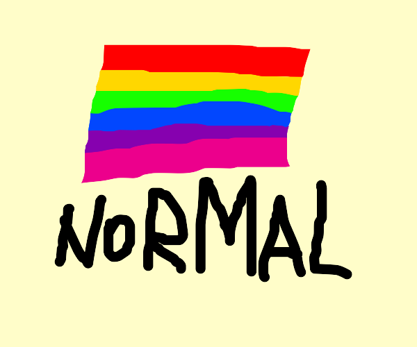 Being LGBT is normal
