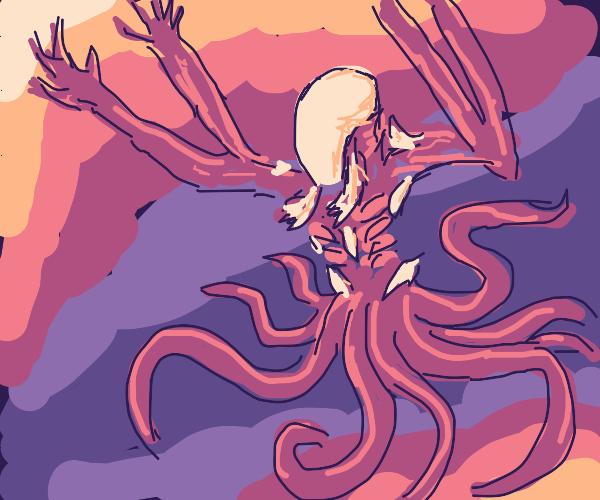 Octopus-Alien Hybrid