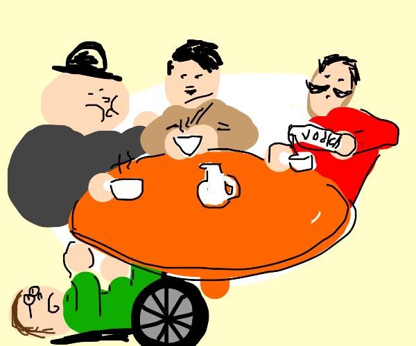WW2 as a tea party