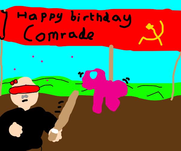 Communist birthday