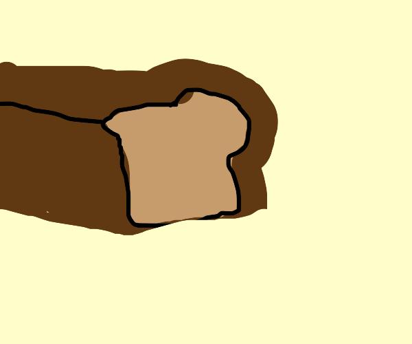 a very long bread