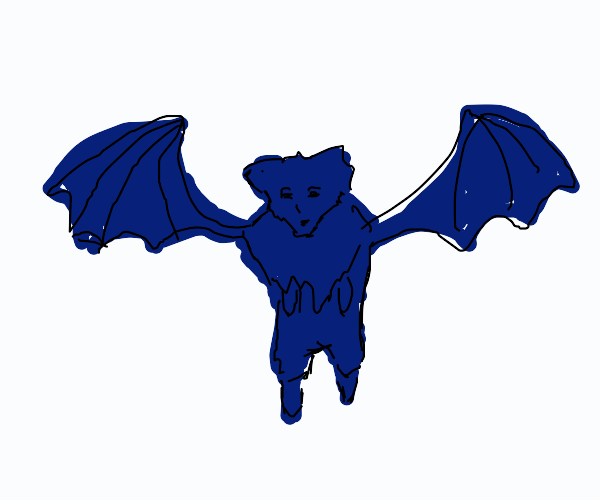 Two-winged Blue Wolf Dragon
