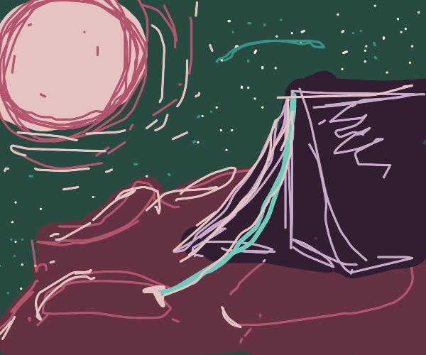 unusual campsite