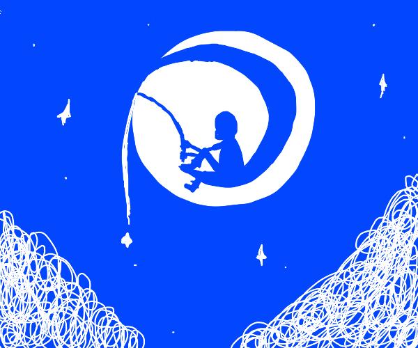 Dreamworks dude fishing for stars
