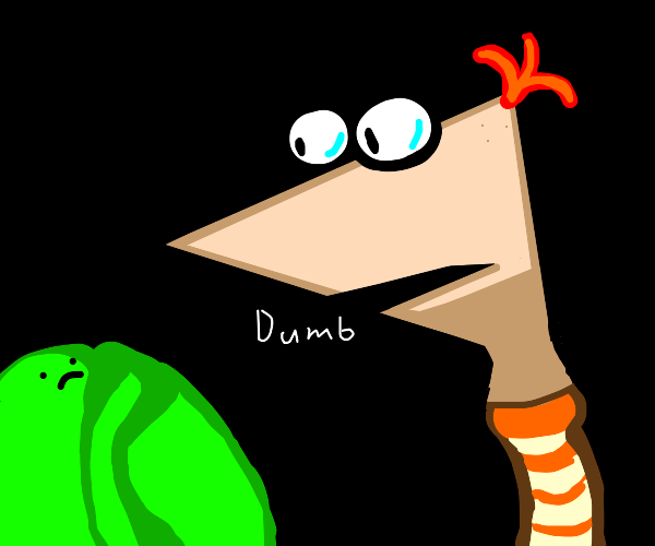 Phineas bullies a cabbage