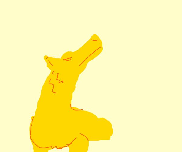 Golden pupper