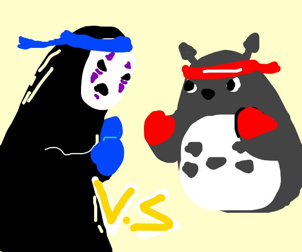 spirited away vs my neighbor totoro