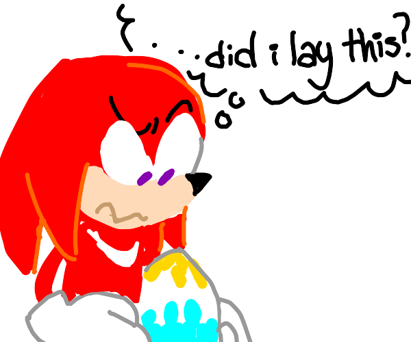Knuckles was actually a girl this whole time