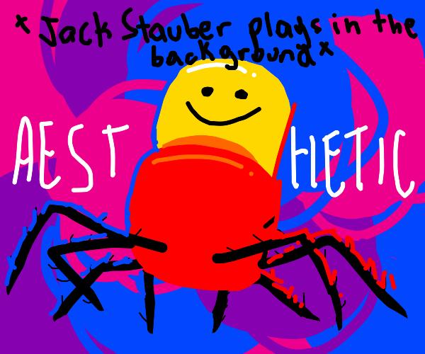 aesthetically pleasing despacito spider