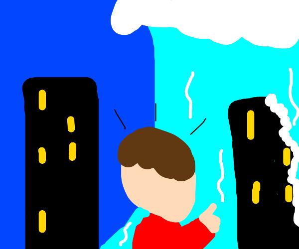 Towering Ocean