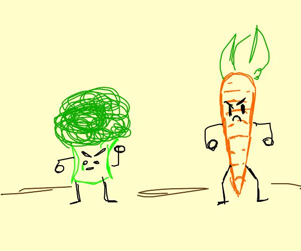 Vegetables Fight Back