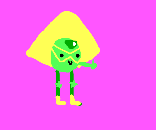 Peridot Doing The Thumbs Up Motion