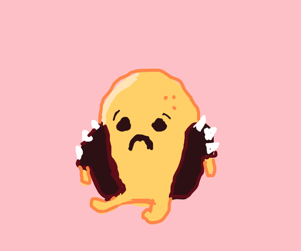 Depressed spiky potatoe