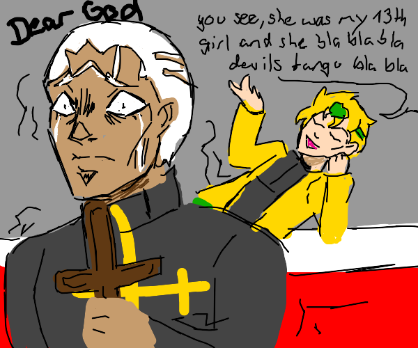 Pucci clings to what little faith he has left