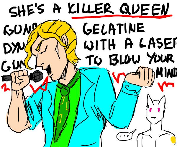 Yoshikage Kira from jjba sings killer queen